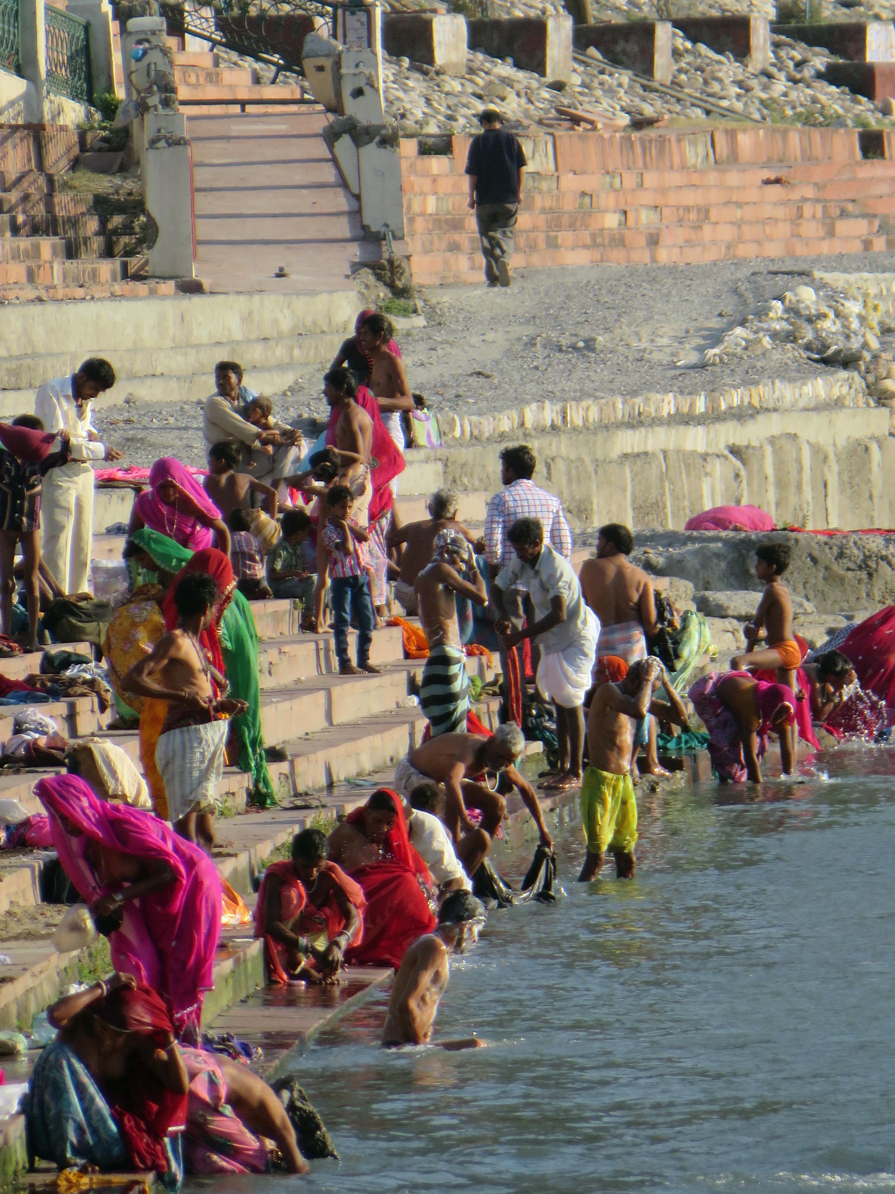 Ganga River Bath The gallery for -->...
